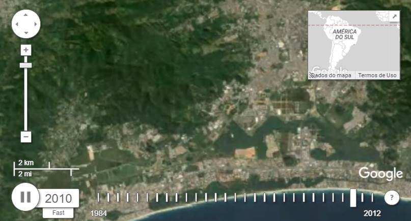 Urbanização ameaça áreas de Mata Atlântica do Rio de Janeiro