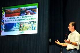 Proposta para a criação das Unidades de Conservação foi apresentada em Manaus, durante audiência pública na Assembléia Legislativa, no início de maio, pelo analista ambiental Aldizio Lima de Oliveira Filho, representante do ICMBio. Foto: Elisa Garcia Maia/Aleam