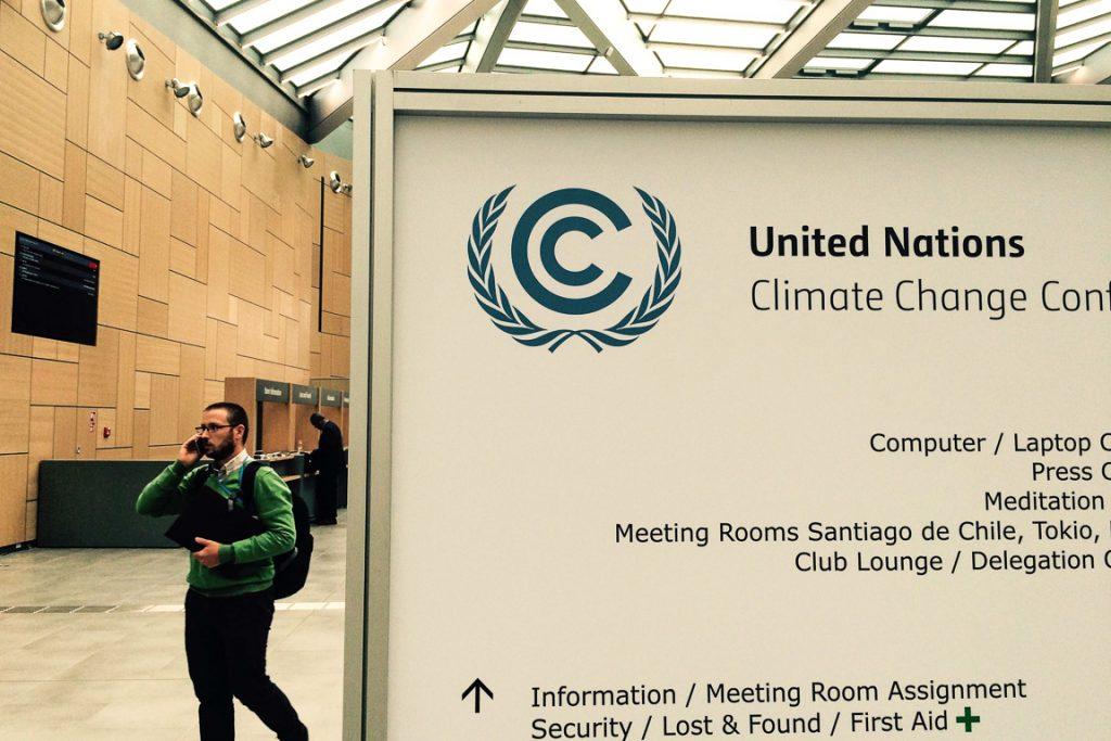O Centro de Conferências de Bonn, sede das reuniões preparatórias para a COP21. Foto: Claudio Angelo/OC