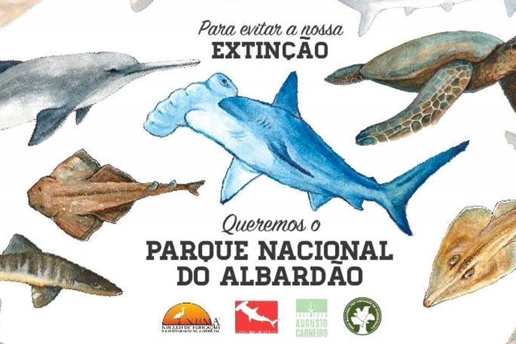 Cartaz da campanha de criação do Parque. Foto: Divulgação
