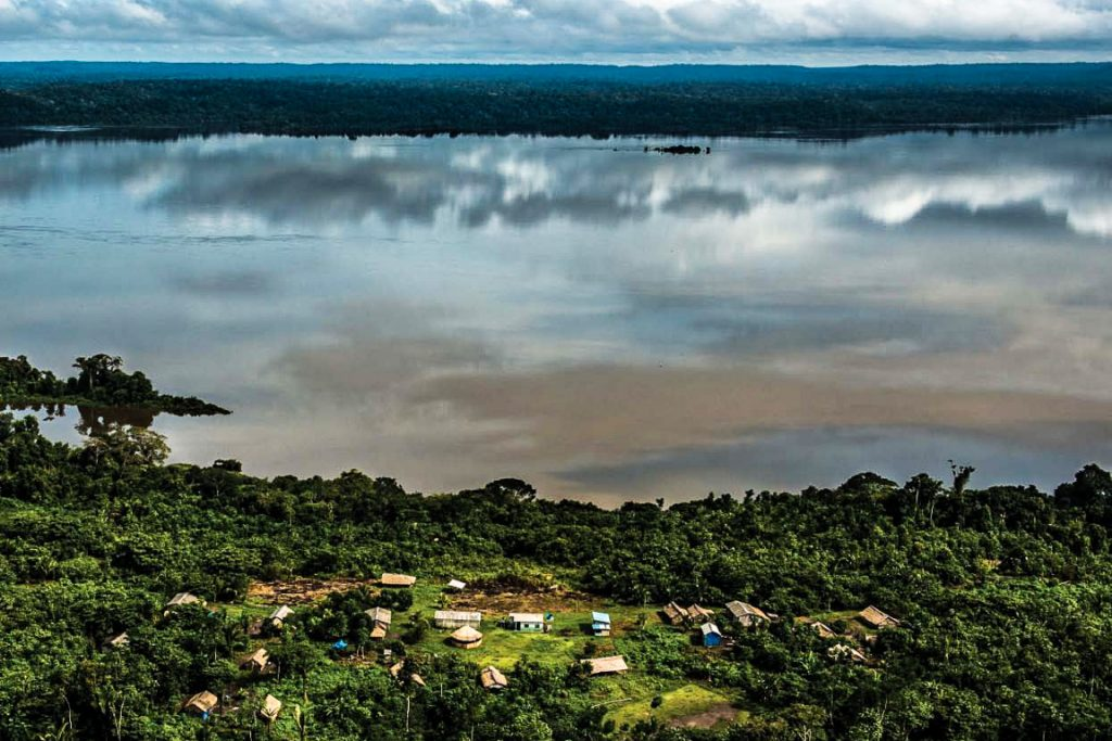 Rio Tapajós. Foto: ©Greenpeace/Fábio Nascimento