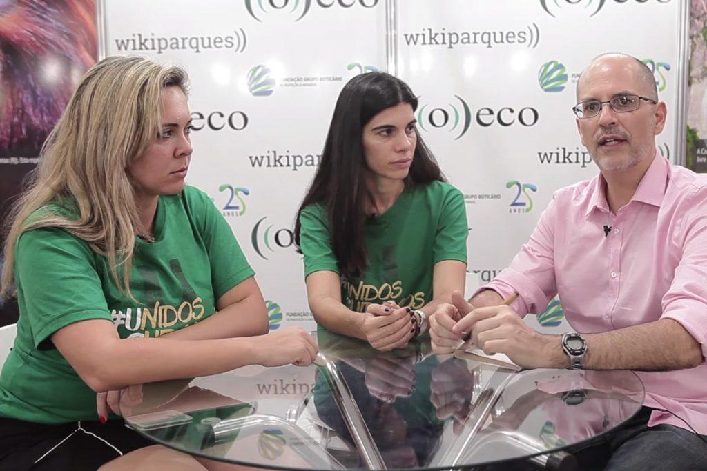 Angela Kuczach e Mariana Ferreira falam sobre lançamento da Coalizão Pró-Unidades de Conservação e da campanha #UnidosCuidamos.