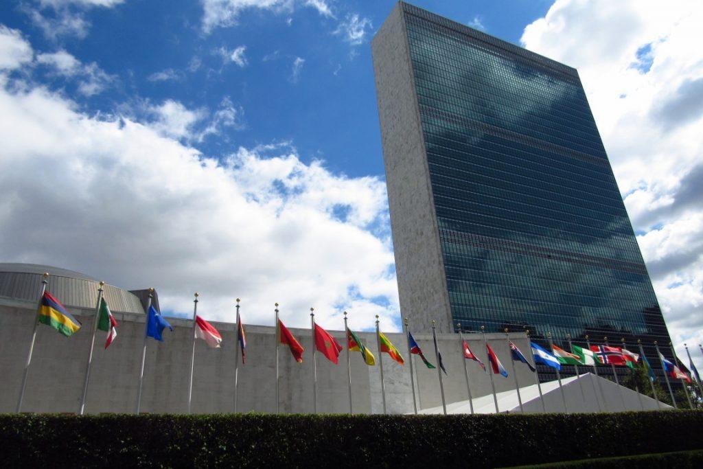Presidente Dilma anuncia na ONU os compromissos brasileiros para a redução de emissões de gases de efeito estufa. Foto: Fabíola Ortiz.