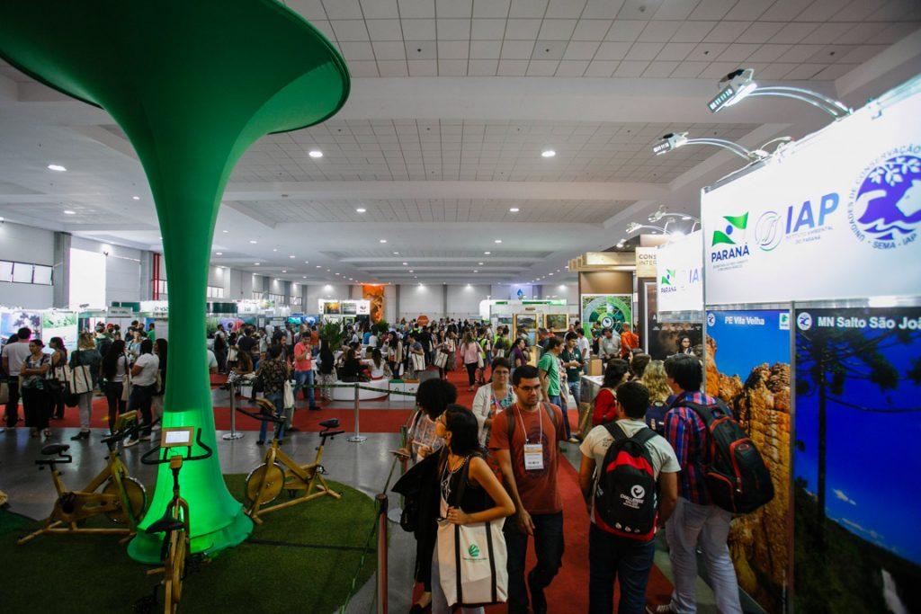 Exposição Conexão Natureza é destaque no VIII Congresso Brasileiro de Unidades de Conservação. Foto: Divulgação.