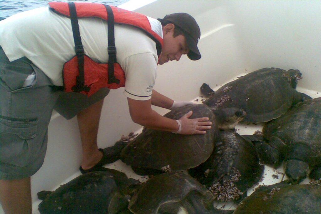 Mauricio Steller pode ser condenado a 12 anos de prisão por matar caçador de ovos de tartaruga durante patrulha no Parque Nacional Corcovado, na Costa Rica. Foto: Divulgação/Chance.org.
