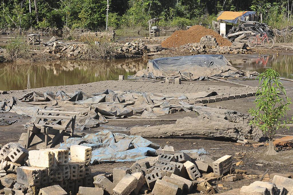 Altamira (PA) - Áreas que serão alagadas com a construção da Usina Hidrelétrica de Belo Monte. (Foto: Valter Campanato/ABr)