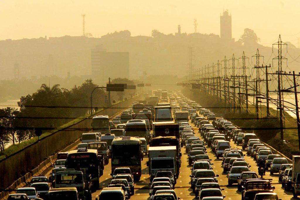 Poluição urbana. Foto: Sergio Neves