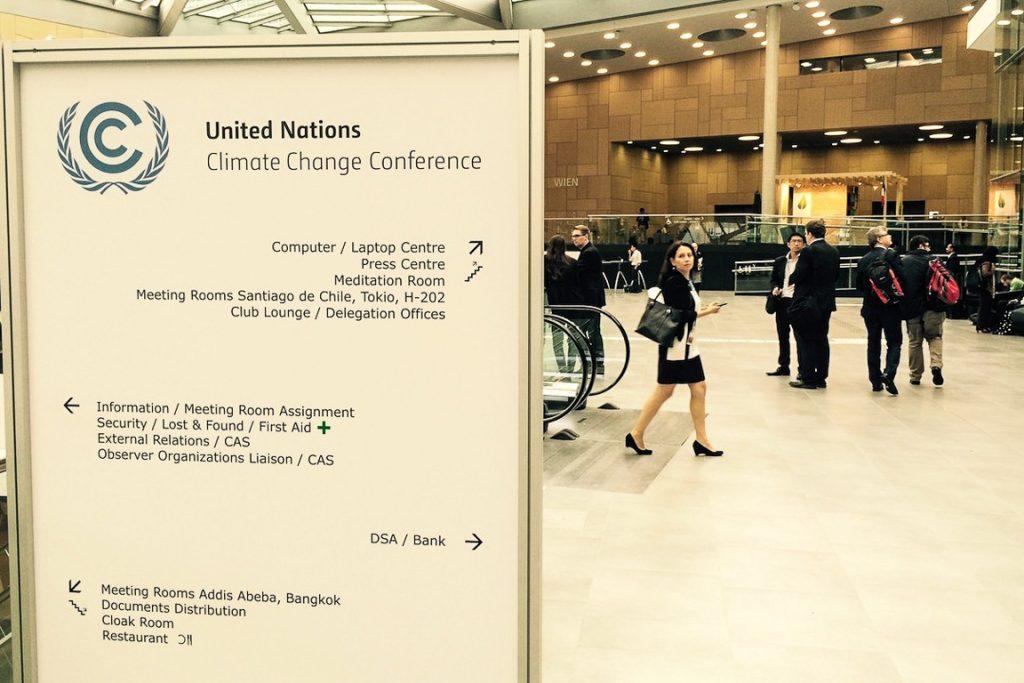 Delegados no Centro de Conferências de Bonn, Alemanha. Foto: Claudio Angelo/OC