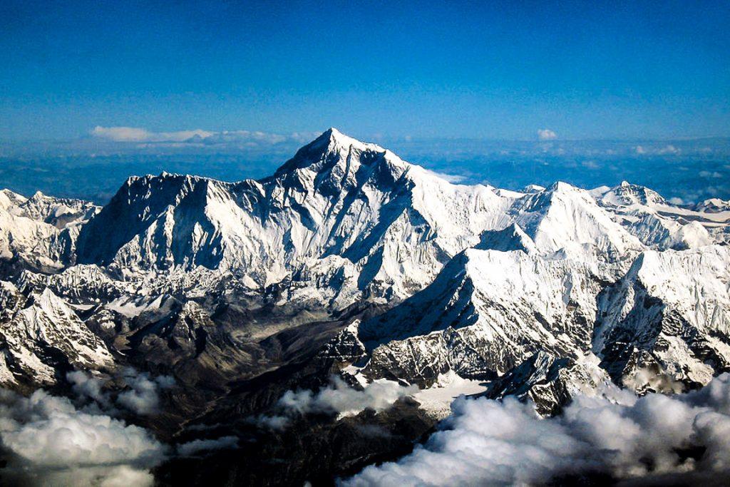 O monte Everest. Foto: Wikipedia