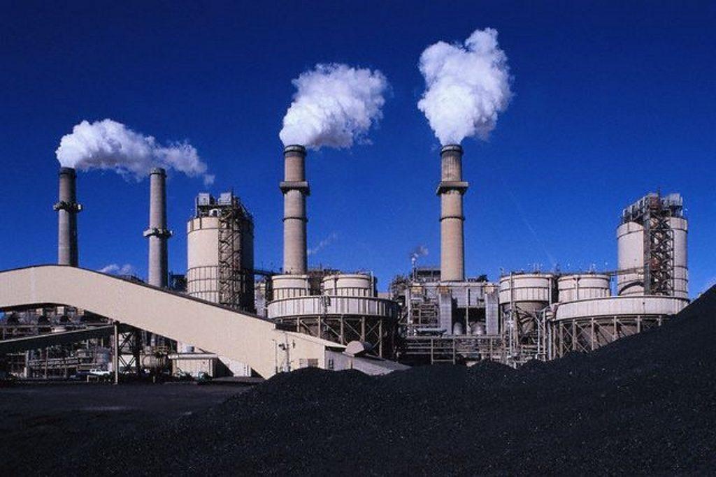 Termelétrica a carvão nos EUA. Foto: Larry Lee Photography/Corbis.