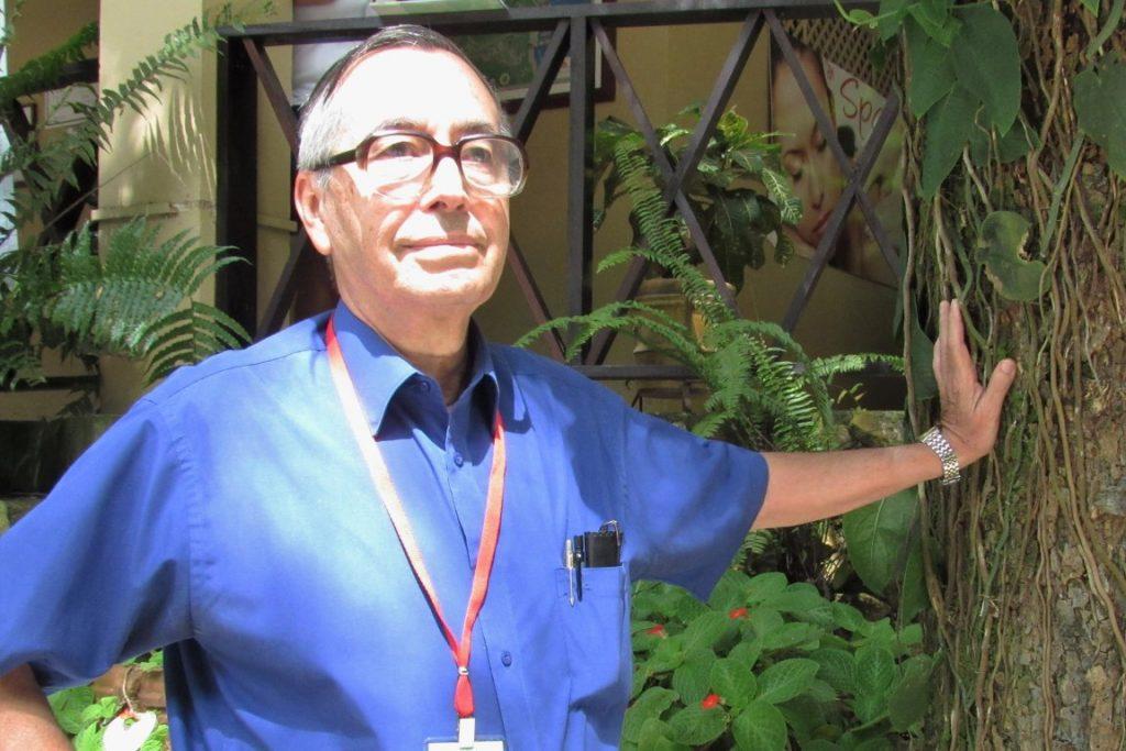 Mario Boza, ambientalista e um dos criadores do sistema de parques nacionais da Costa Rica. Foto: Fabíola Ortiz.