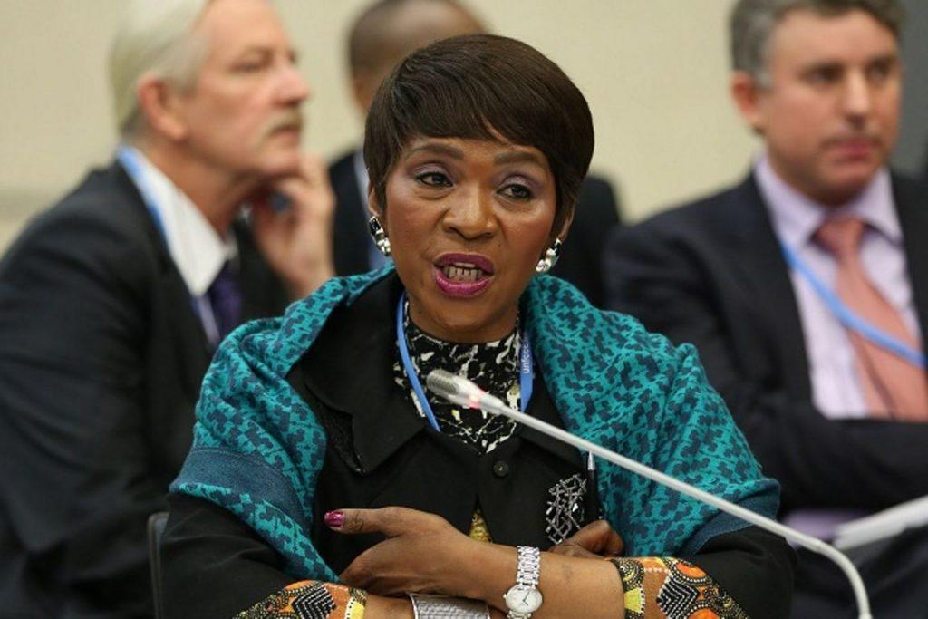 A embaixadora sul-africana Nozipho Mxakato-Diseko acusou os países ricos rincípios centrais da Convenção do Clima, ao tentar empurrar o financiamento para os países em desenvolvimento. Arquivo: IISD.
