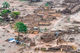 A lama da destruição em Mariana (MG). Foto: Antonio Cruz/Agência Brasil