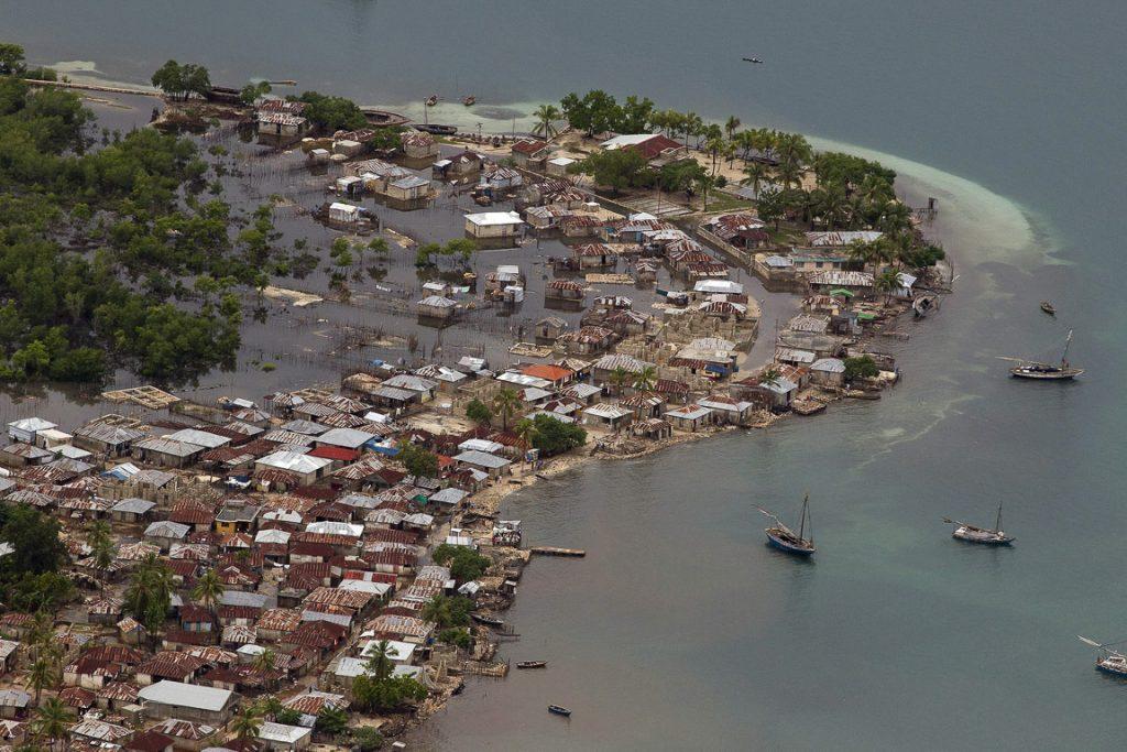 Cidade do Haiti alagada após passagem de furacão em 2012. Foto: Logan Abassi/UN Photo
