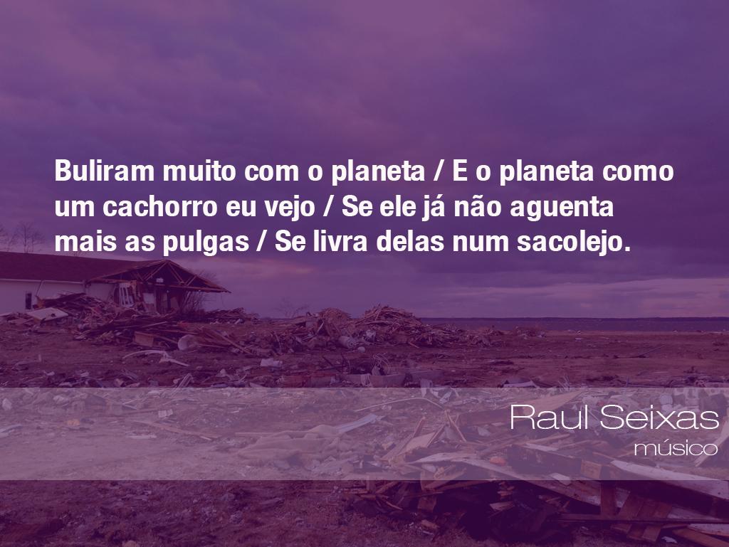 Frases Do Meio Ambiente Raul Seixas Músico 31032016 Oeco