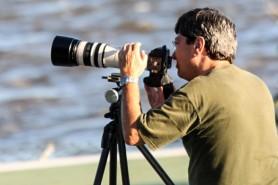 Marcos Sá Corrêa em ação no PNI. Foto: Jorge Pegoraro
