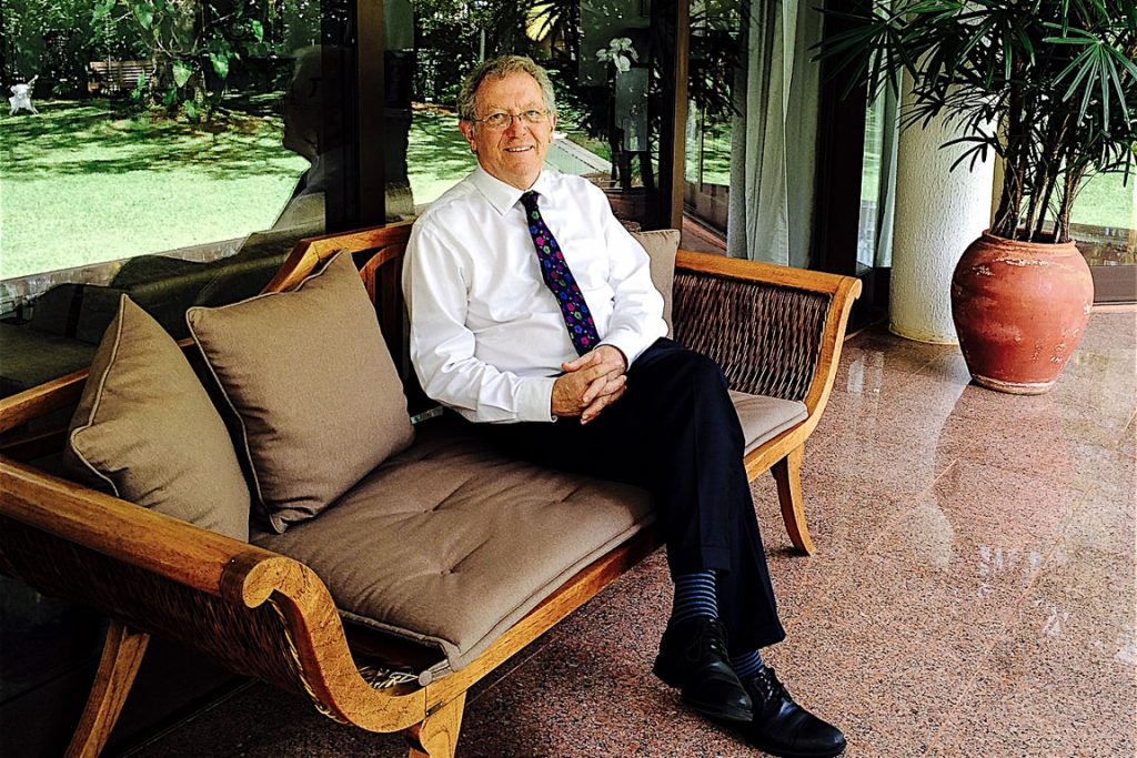 O enviado especial para mudanças climáticas do Reino Unido, Sir David King. Foto: Claudio Angelo/OC/Creative Commons