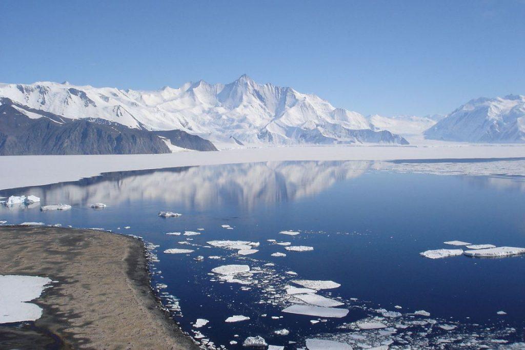 O monte Herschel. Foto: Wikipédia.
