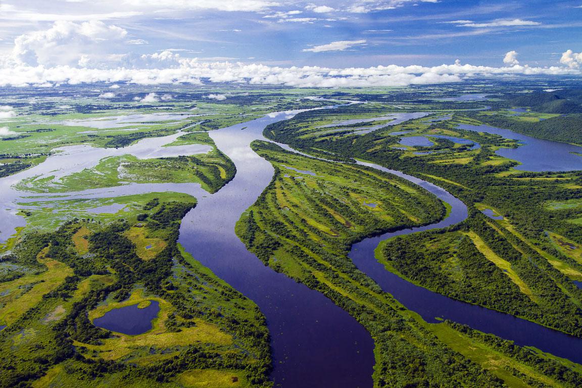 Pantanal aérea. Foto: Daniel De Granville