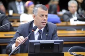 Evair de Melo (PV-ES) é o favorito da bancada ruralista para assumir o Ministério do Meio Ambiente num eventual governo Temer. Foto: Alex Ferreira/Câmara dos Deputados.