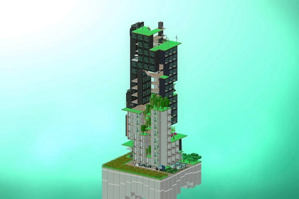 Construir um bairro sustentável é a missão do novo game Block'Hood