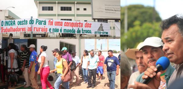 Movimentos ocupam a sede da SR-30 em protesto contra a exoneração de Chalito. Foto: Ascom/Terra de Direitos