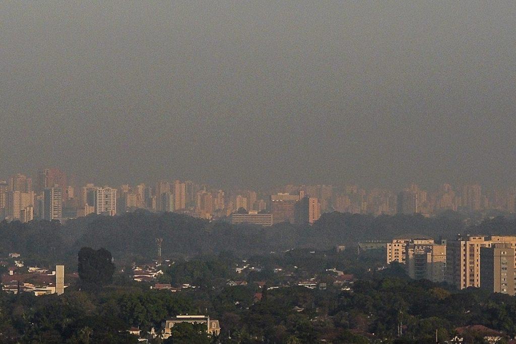 Poluição do ar em São Paulo. Foto: Fábio Ikezaki/Flickr
