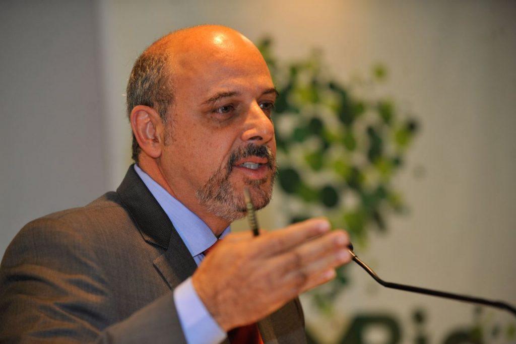 Cláudio Maretti durante posse como o novo presidente do ICMBio, em maio de 2015. Foto: Fabio Rodrigues Pozzebom/Agência Brasil.