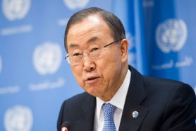 Ban Ki-moon discursa em Durban, África do Sul. Foto: UN Photo.