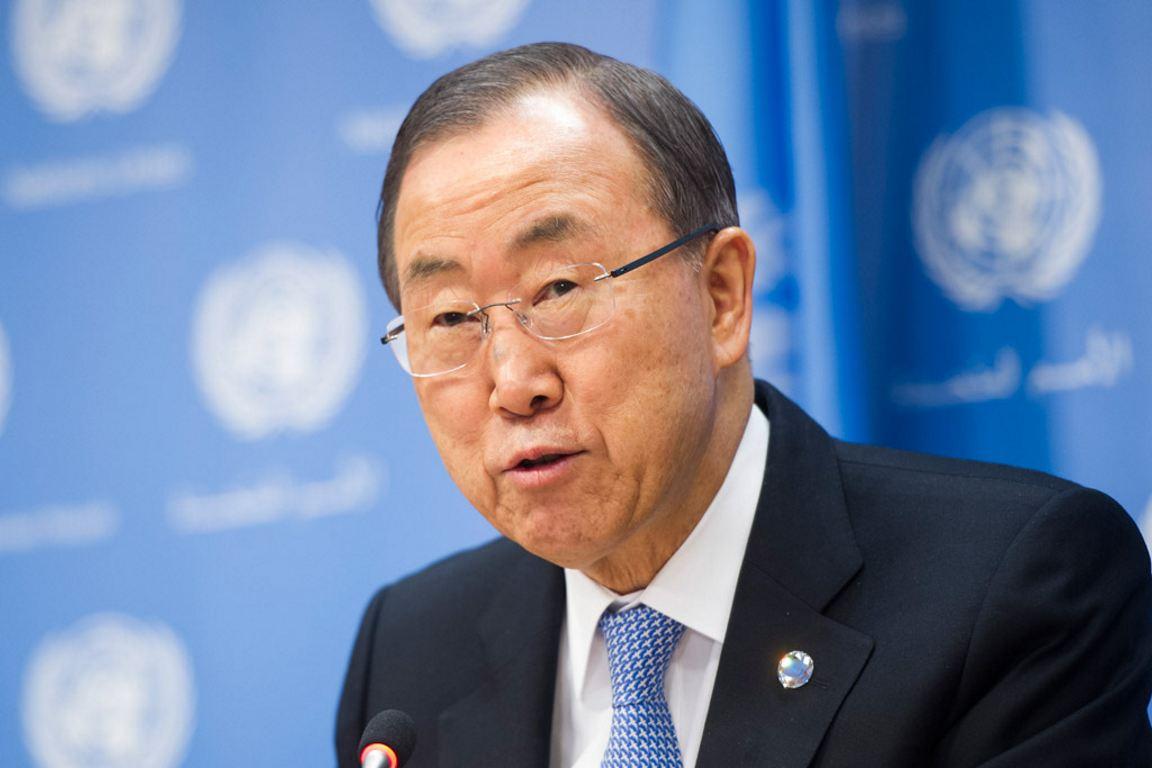 Ban Ki Moon Generalsekretär