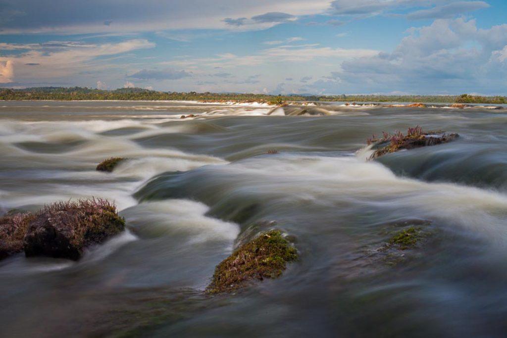 Corredeiras do Uruá, no rio Tapajós, que seriam submersas caso a usina São Luiz do Tapajós fosse construída. Foto: Marcio Isensee
