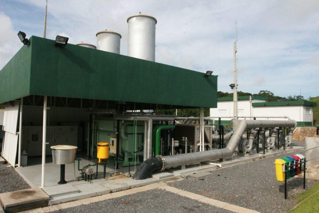 Usina Termoelétrica Termoverde. Queima de combustível fóssil nas termelétricas contribuiu para o aumento nas emissões no setor de energia. Foto: Rafael Martins/AGECOM