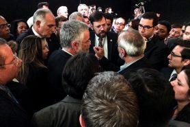 Negociadores tentam resolver diferenças no final da COP de Marrakesh. Foto: Claudio Angelo/OC
