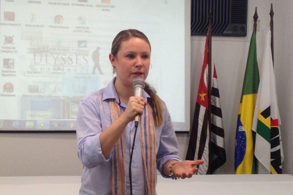 A ex-deputada estadual Vanessa Damo (PMDB) foi afastada do cargo que ocupava desde julho no Ibama. Foto: Alesp.