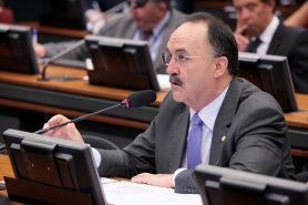 O deputado Mauro Pereira (PMDB-RS), relator do projeto sobre licenciamento. Foto: Antônio Augusto/Câmara dos Deputados.