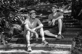 Os autores Silvio Marchini e Edson Grandisoli. Foto: Divulgação.