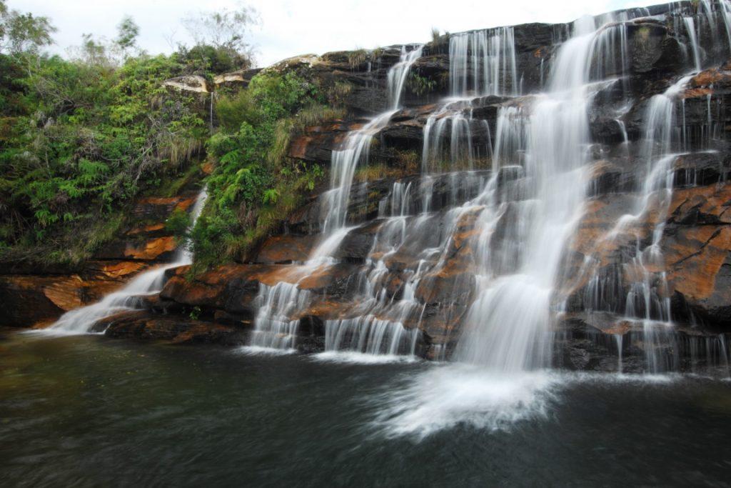 Rio de lajeado. Cânion do Guartelá, localizado entre Tibagi e Castro, no Paraná. Foto: Zig Koch.