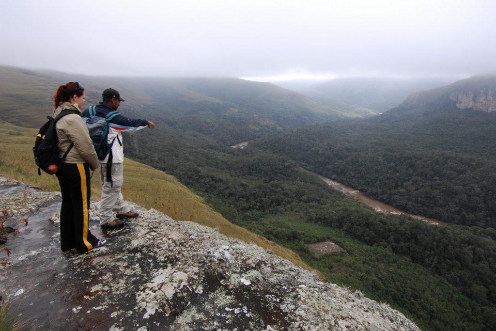 Cânion do Guartelá, localizado entre Tibagi e Castro, no Paraná. Foto: Zig Koch.