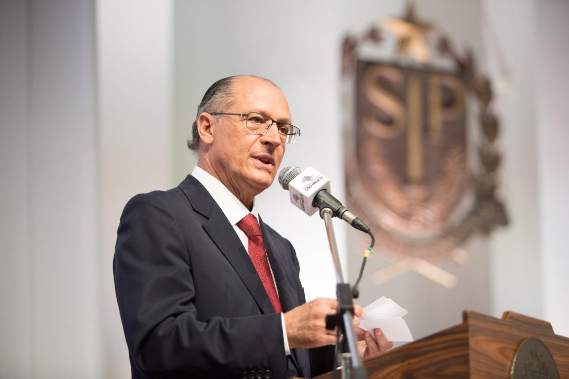 O governador de São Paulo, Geraldo Alckmin, enviou o documento para a construção dos parques para a análise da Dersa (Desenvolvimento Rodoviário S.A). Foto: Governo do Estado de São Paulo/Flickr.