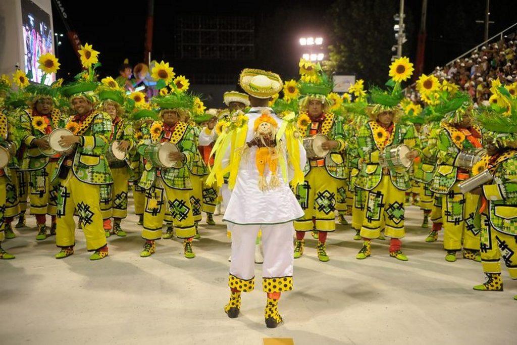 Desfile da Imperatriz Leopoldinense 2016. Foto: Wikipédia.