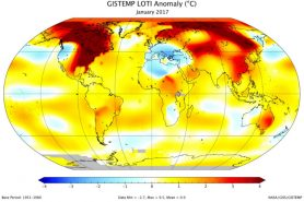 Global warming accelerated trend