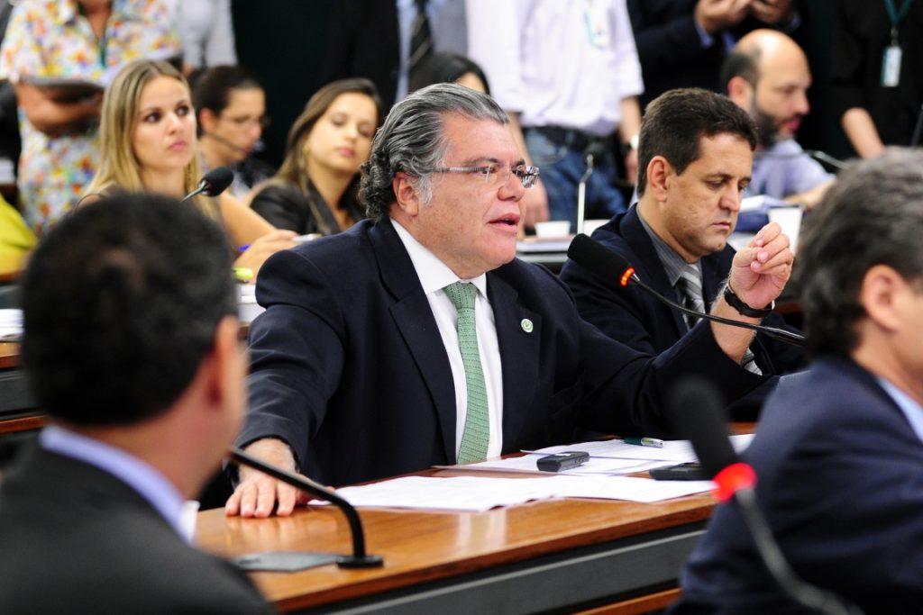 O ministro do Meio Ambiente, Sarney Filho. Foto: Gustavo Lima/Câmara dos Deputados.