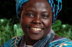 Wangari Maathai. Foto: Martin Rowe/Oregon State University