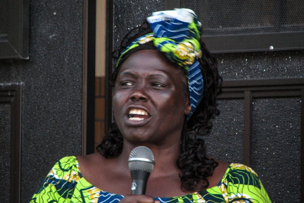 Wangari Maathai. 2007. Foto: Center for Neighborhood Technology