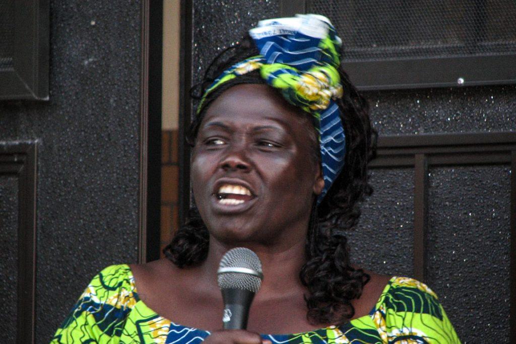 Wangari Maathai. 2007. Foto: Center for Neighborhood Technology