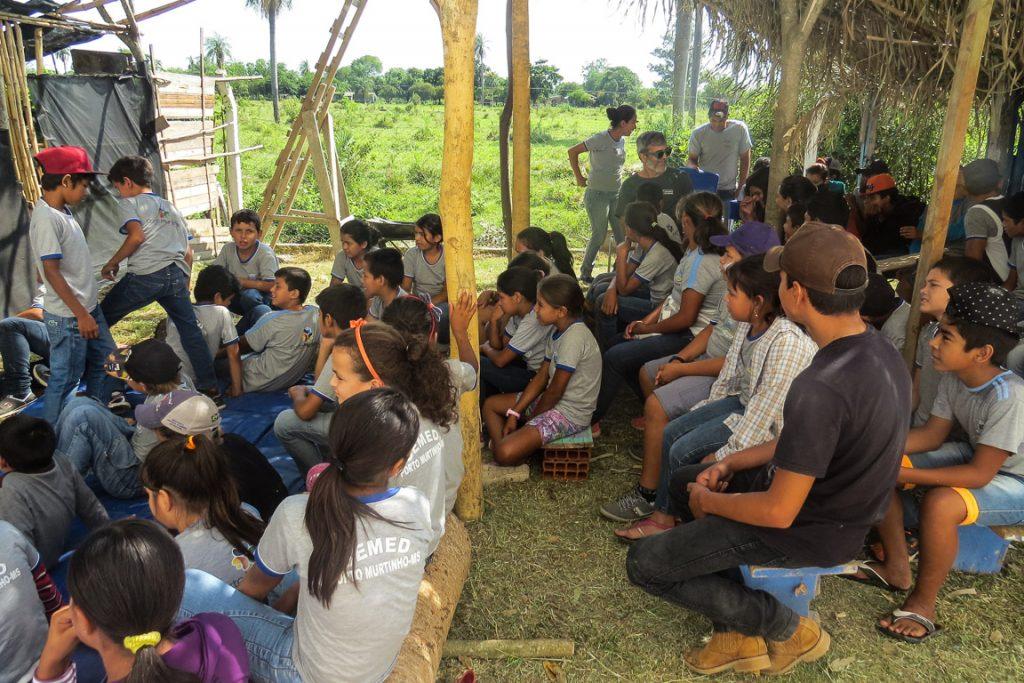 Projeto Viveiro Educador. Foto: Divulgação/ParaTudo