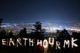 Hora do Planeta na Macedônia Foto: Atanas Stojanovsk