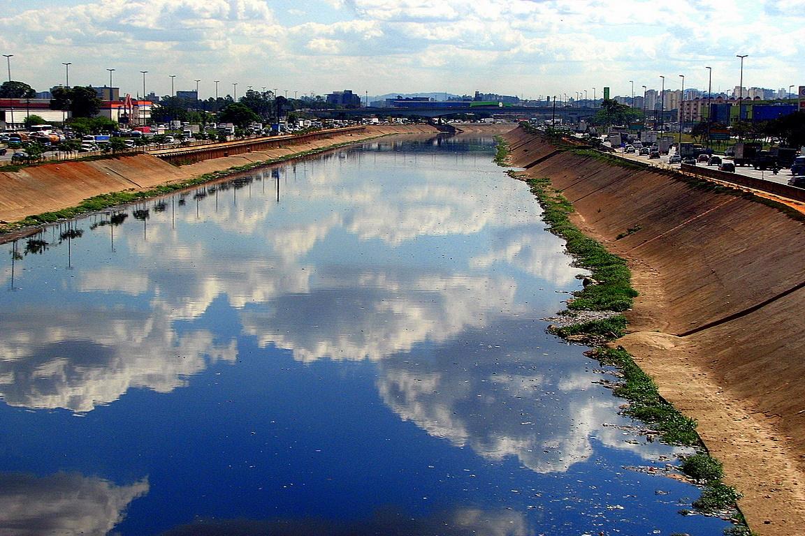 Rio Tietê, em São Paulo. Foto: Cristian Silva/Flickr