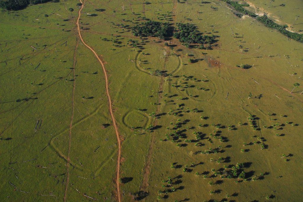 Geoglifos no Acre. Foto: Edison Caetano.