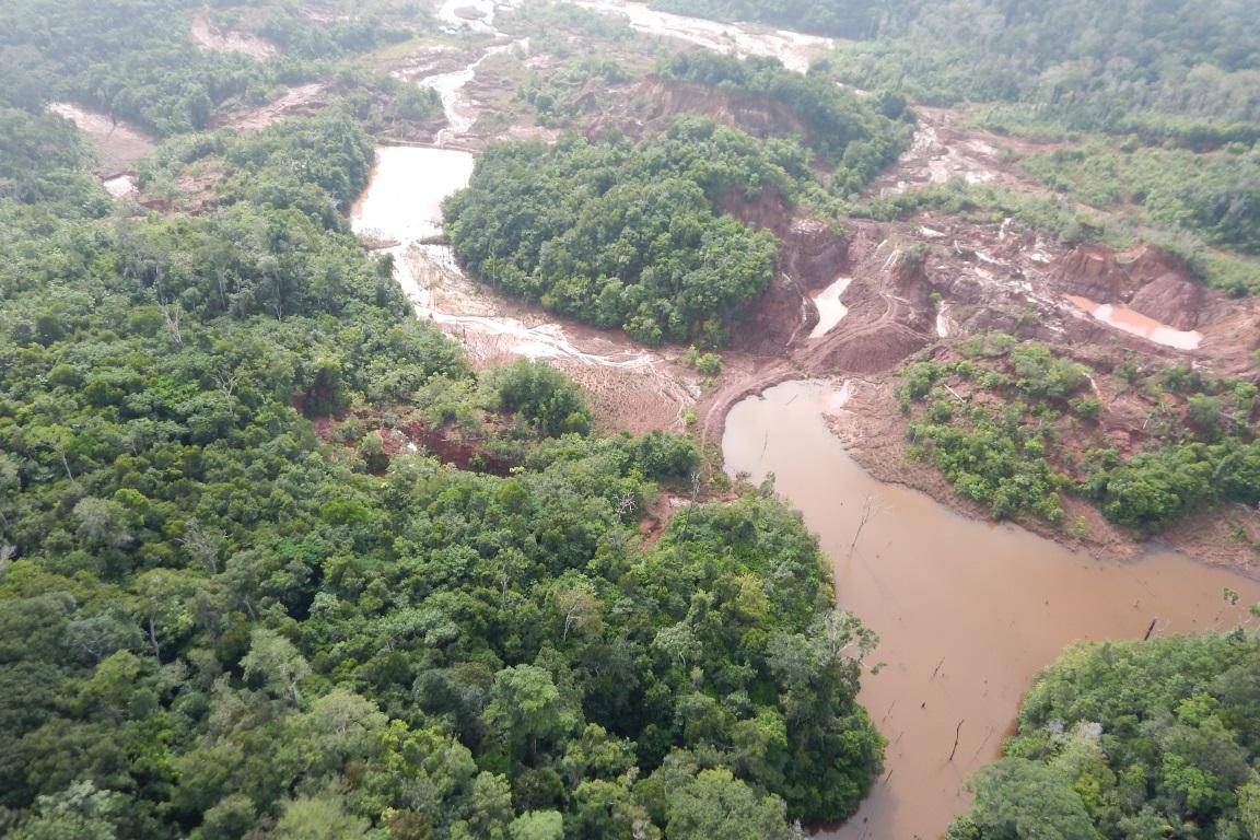 Ministério Público confirma danos em barragens no Garimpo do Juma